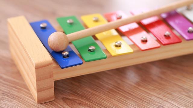 Skønne musikinstrumenter til børn