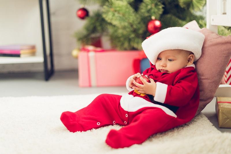 Første jul med guldklumpen