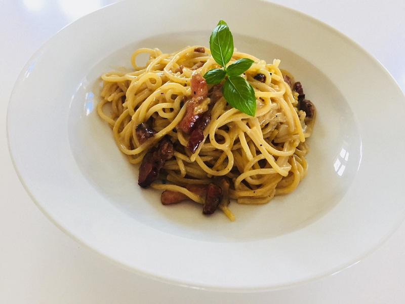 Lækker spaghetti carbonara