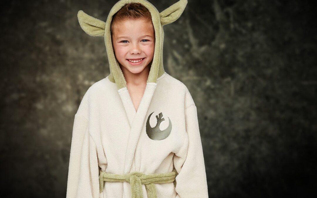 Yoda badekåbe til børn