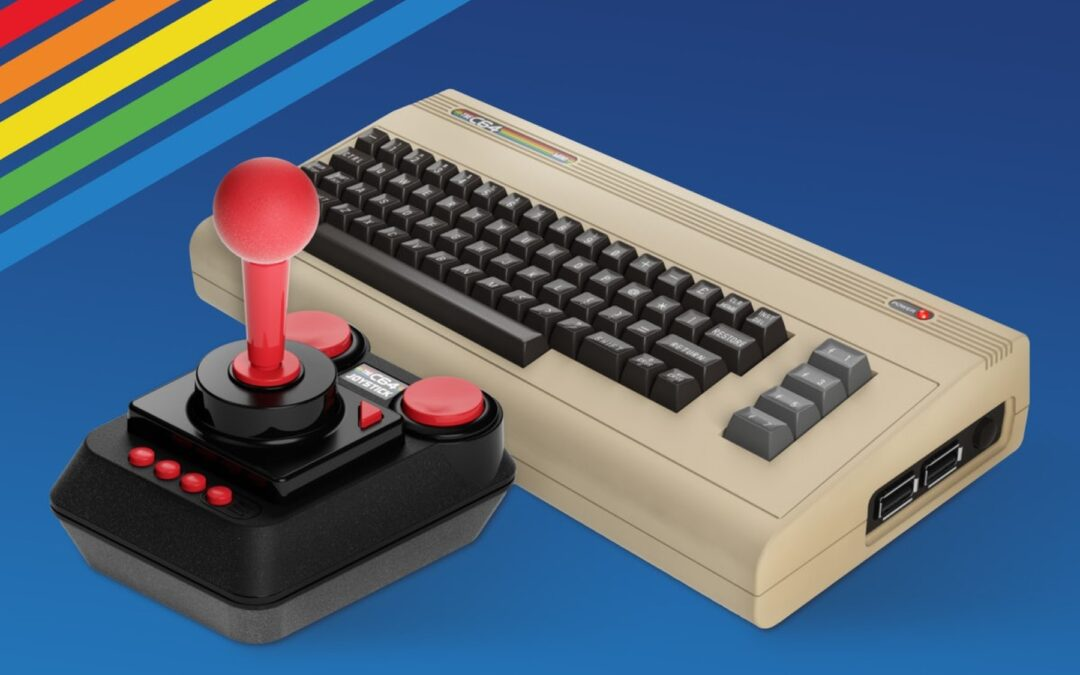 Commodore 64 mini spillekonsol