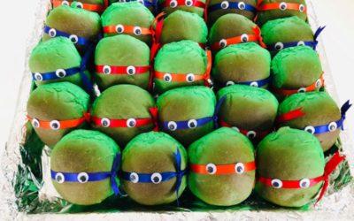 Turtles fødselsdagsboller