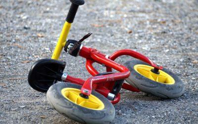 Fart over feltet på to hjul