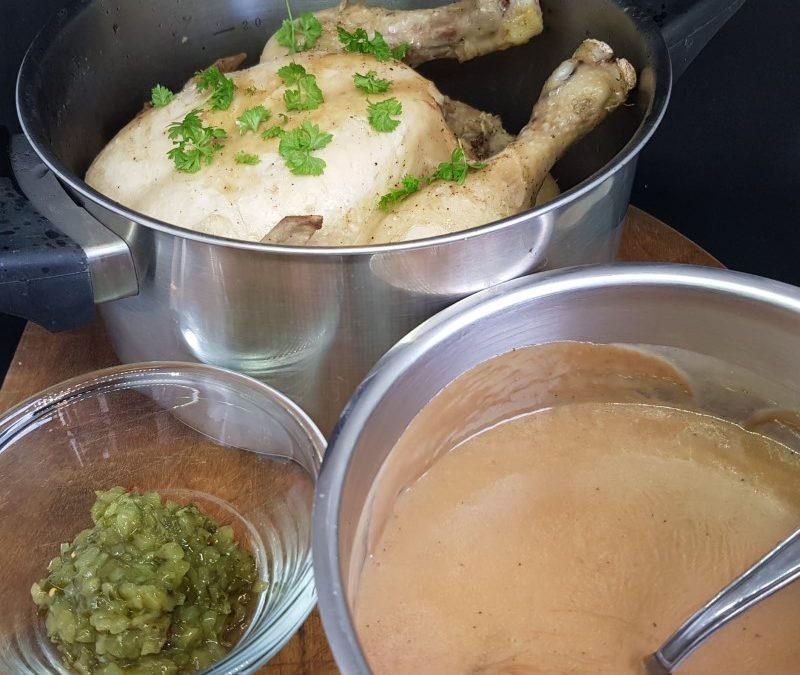 Sådan laver du grydestegt kylling